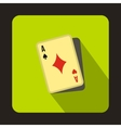 Cheating at play icon flat style vector image