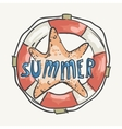 Summer Holiday Vacation Travel Background vector image