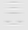 Webpage Dividers vector image