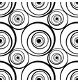 Seamless pattern with circles vector