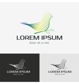 Bird logo template vector image