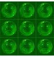 digital smiles vector image