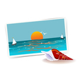 Remembering Of Vacations vector image vector image