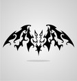 Bat Tattoo Design vector image vector image