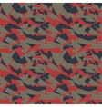 Seamless military camouflage texture vector image