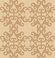 Seamless eastern ornamental wallpaper vector image