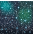 Star constellation light vector image