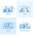 flat line designed concepts 7 vector image