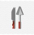 kitchen equipment design vector image