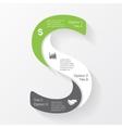 business infographic diagram presentation vector image