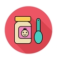 Baby food vector image vector image