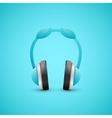 Headphones Graphic Concept vector image