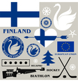 Finland vector image vector image