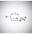 Abstract circuit board vector image
