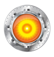 Metallic Energy Generator vector image