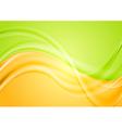 Colourful wavy spring design vector image vector image