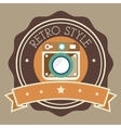 Photography and camera retro-vintage design vector image