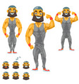 man character for your scenes funny cartoon vector image