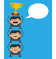 Teamwork and Success Concept vector image
