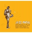 Jazz music vector image