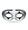 Pierrot carnival mask vector image