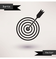 Pictograph of target icon Template for your design vector image