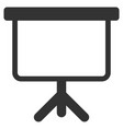 projection board flat icon vector image