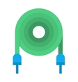 Electrical cable vector image