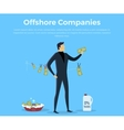 Panama Papers Offshore Company vector image