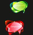 ballons text vector image