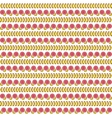 Seamless pattern with the flowers Floral vector image