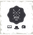seal stamp icon Hipster style design vector image