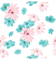 Flower seamless pattern for print vector image vector image