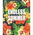 Summer poster Typography vector image vector image