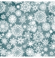 blue christmas background with snowflake eps 8 vector image vector image