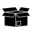 delivery cardboard box vector image