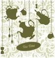 Elegant Teatime vector image