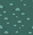 Swamp seamless pattern Big green morass texture vector image