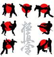 kyokushin karate vector image
