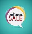 Autumn Sale Banner Poster Flyer vector image
