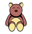 baby bear icon cartoon vector image