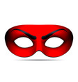 Devil carnival mask vector image