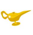 genie magic lamp vector image