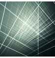 glowing lines abstract vector image