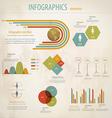 Minimal infographics 5 vector image
