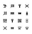 check code - flat icons vector image