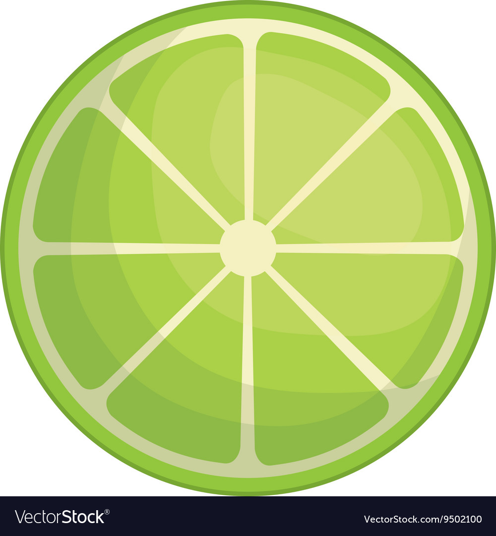 Lemon icon organic and healthy food design vector