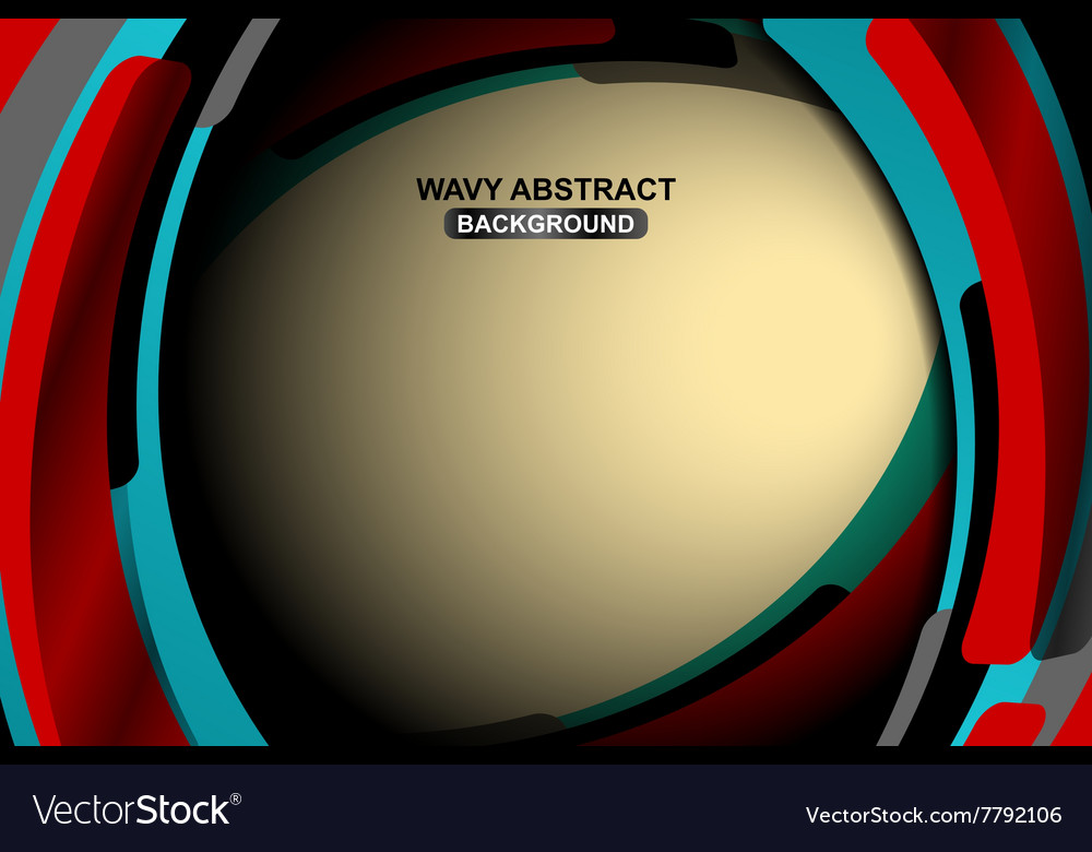 Abstract geometric wavy neutral background vector