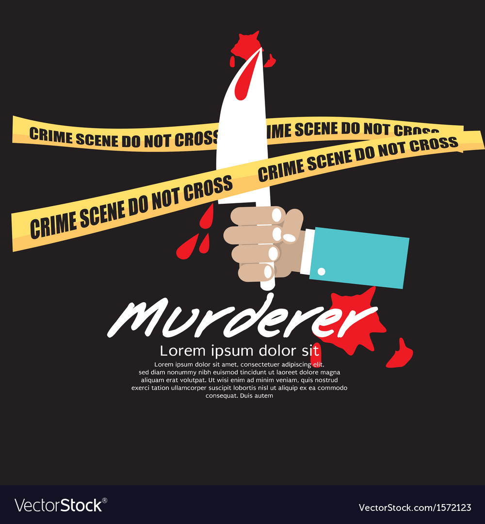 Crime scene eps10 vector