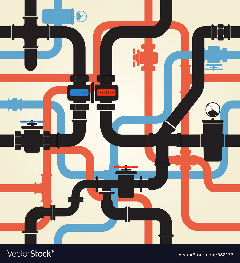 Pipes vector